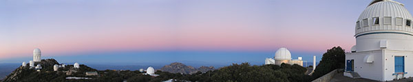 Kitt Peak and the Belt of Venus