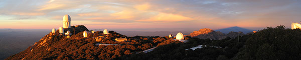 Kitt Peak Shadow at Sunset