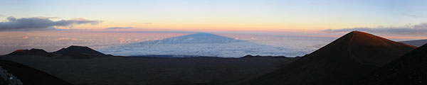 Mauna Kea Shadow at Sunset 