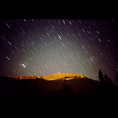 Pikes Peak Startrails 
